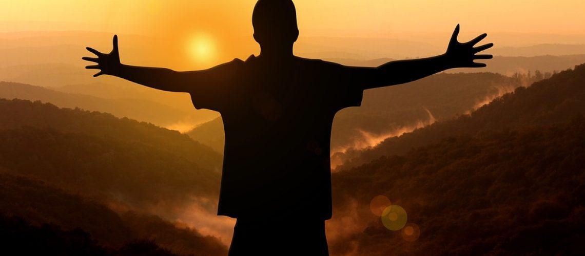 Nature hug voor dankbaarheidsartikel